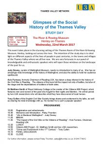 Glimpses of the Social History of the Thames Valley @ River & Rowing Museum